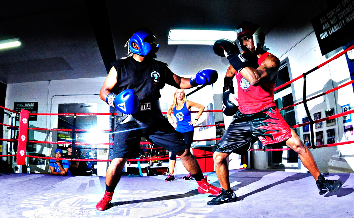 what is sparring in boxing