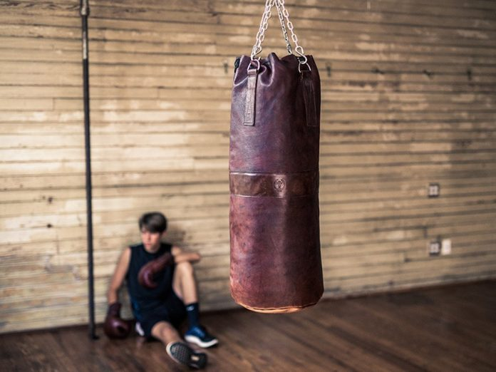 free standing punch bag vs hanging