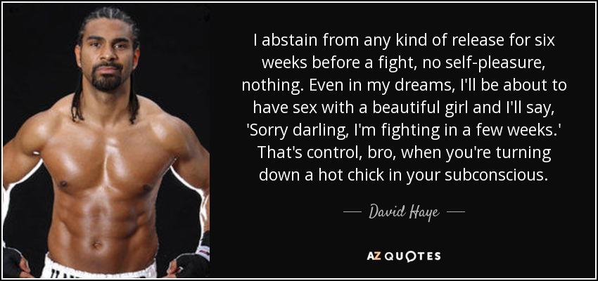 david haye quote