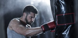 how to punch a punching bag