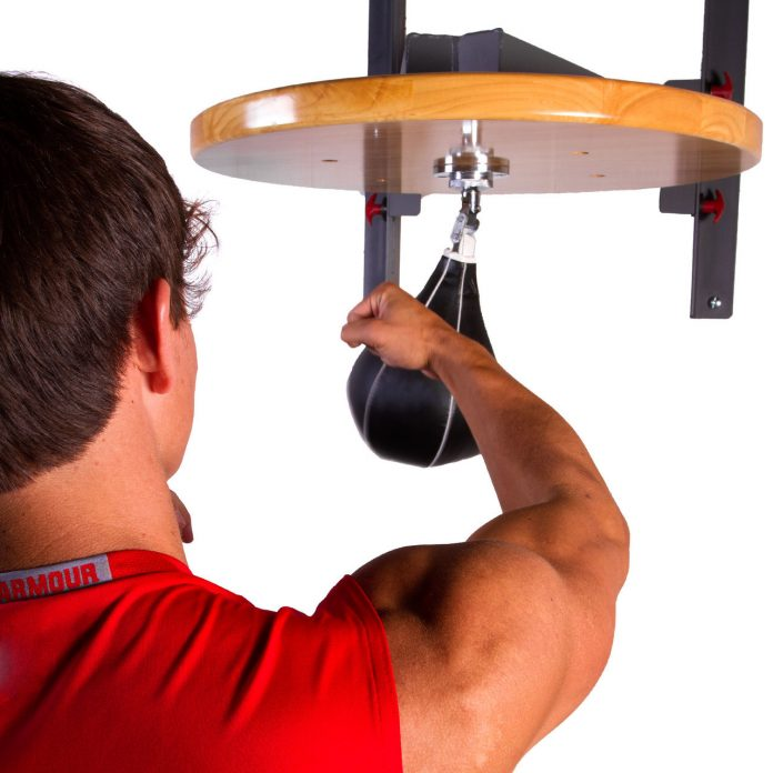 how to punch a speed bag properly
